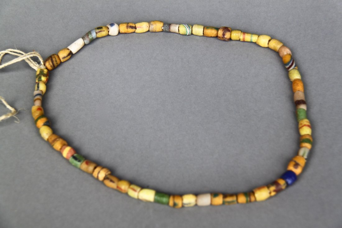 Antique Native American Indian Trade Bead Necklace (Mul