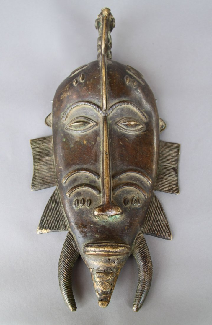 African Bronze Mask (Large)