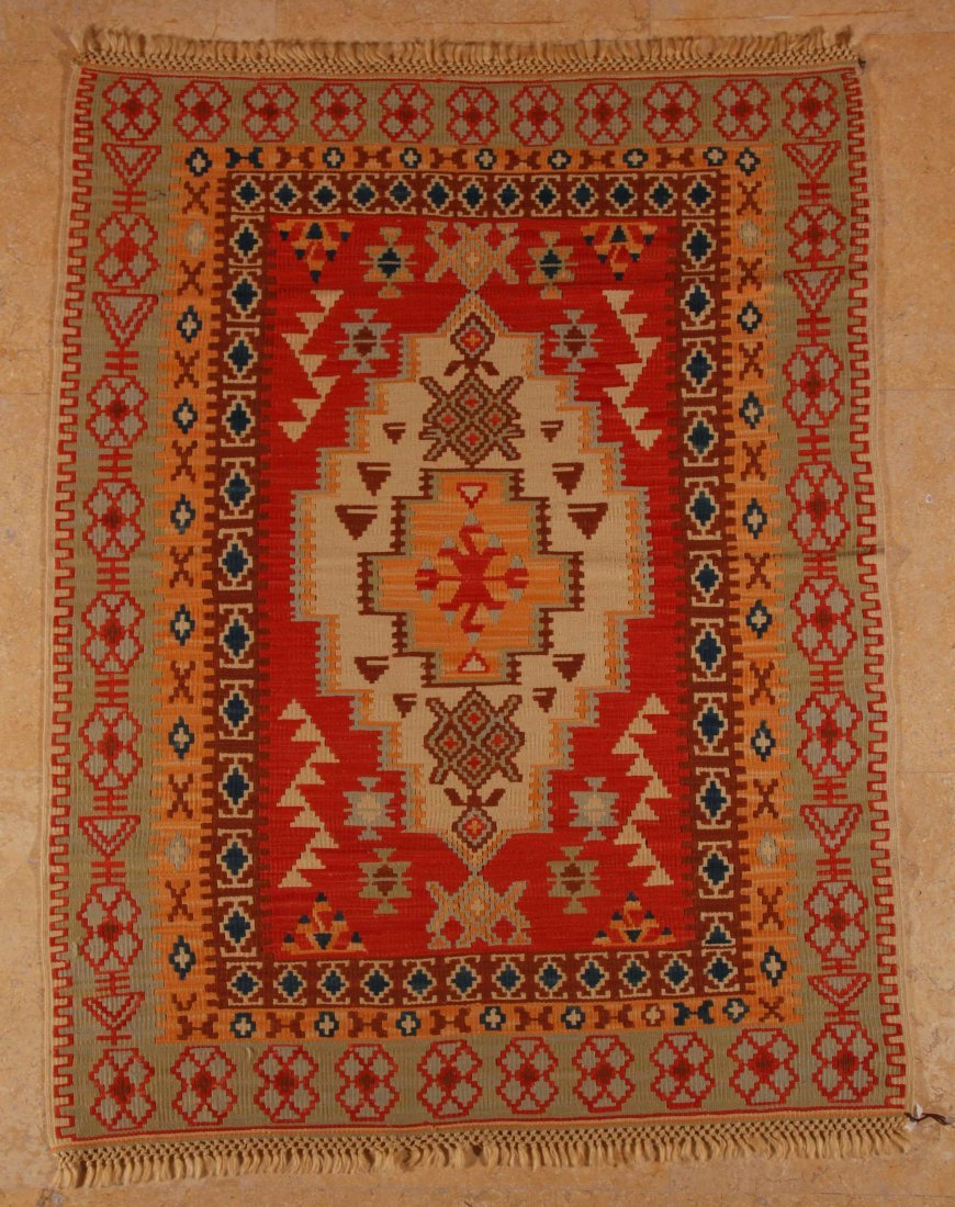 8: Konya, West Central Turkey, 100% handspun wool, mixe