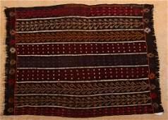 68: Antique, Rare, Yuruk Kilim, 100% handspun wool, mix