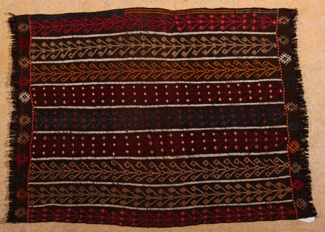68: Antique, Rare, Yuruk Kilim, 100% handspun wool, mix