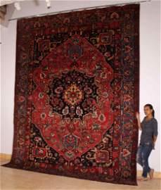 75: Antique Persian, circa 1930, Wool Pileon Cotton Fou