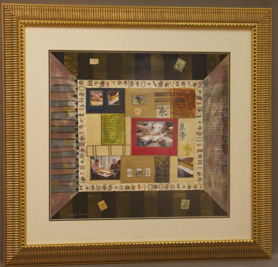 "K. Maas, ""Ancient Past Times 3"", Original Framed Painti"