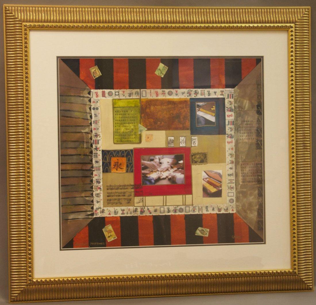 "K. Maas, ""Ancient Past Times 2"", Original Framed Painti"