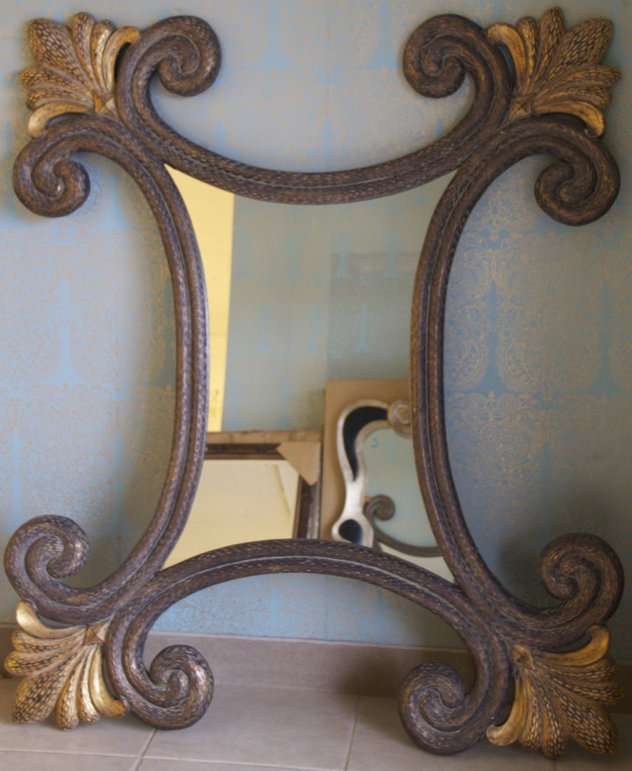 Decorative Mirror  [29(lbs), 66(in), 56(in), 2(in)]