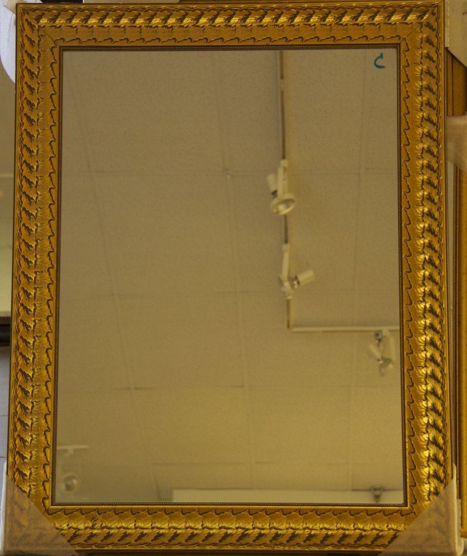 Decorative Mirror  [26(lbs), 42(in), 3(in), 1(in)]