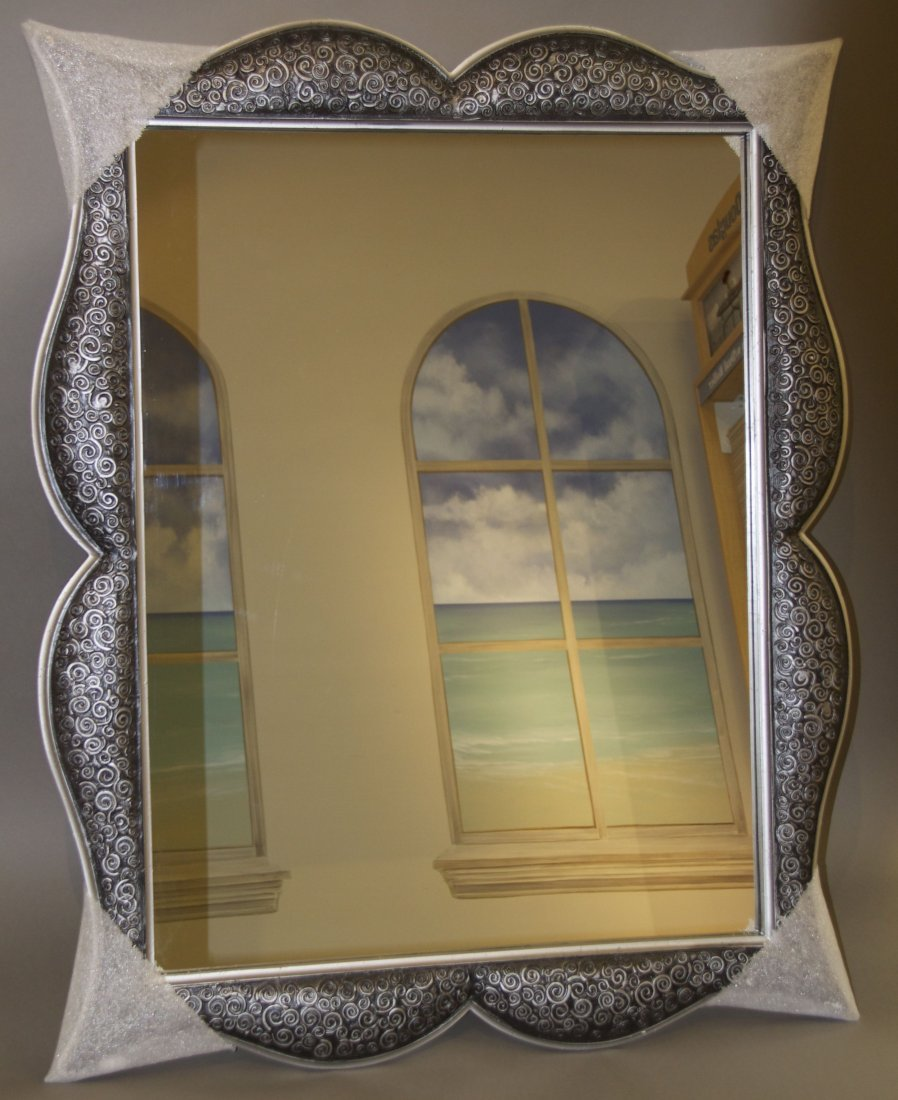 Decorative Mirror  [20(lbs), 43(in), 34(in), 1.5(in)]