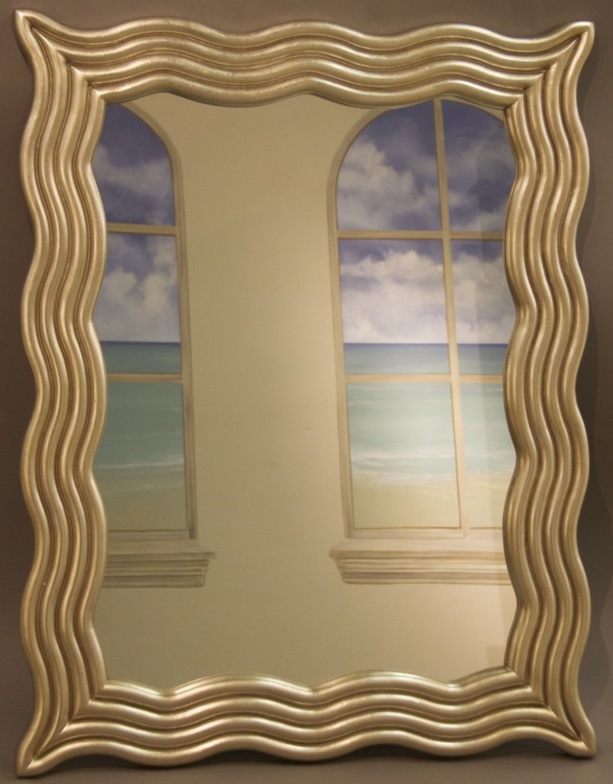 Decorative Mirror  [24(lbs), 42(in), 33(in), 1.5(in)]