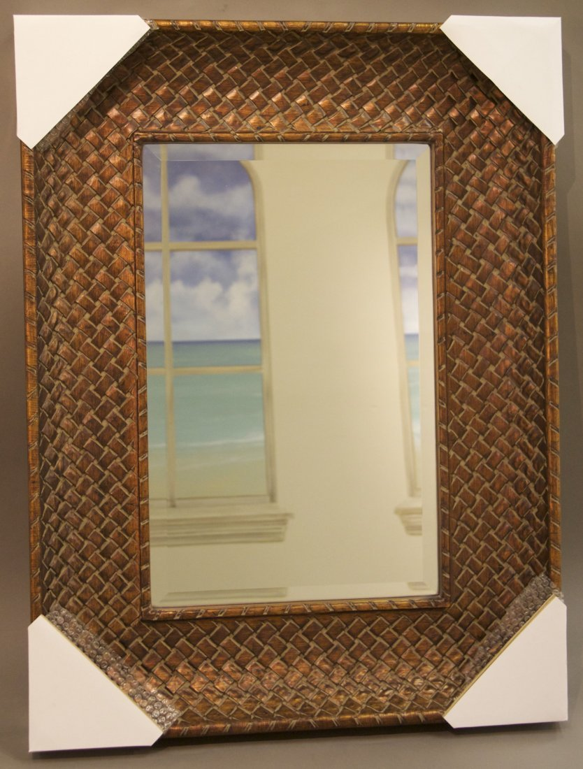 Decorative Mirror  [21(lbs), 40.5(in), 31(in), 3.25(in)