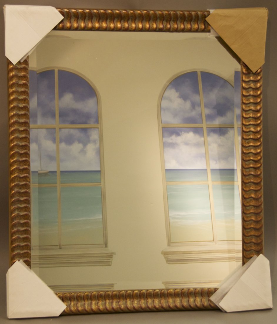 Decorative Mirror  [38(lbs), 42(in), 37(in), 2(in)]