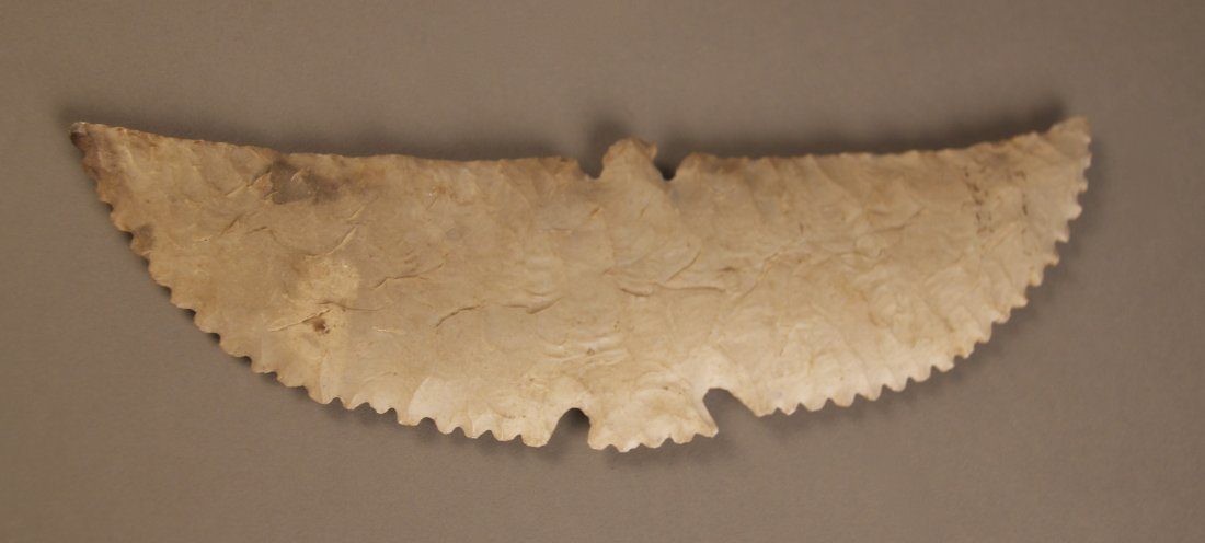 Very Rare Eagle Shaped Arrowhead Artifact.  Museum piec