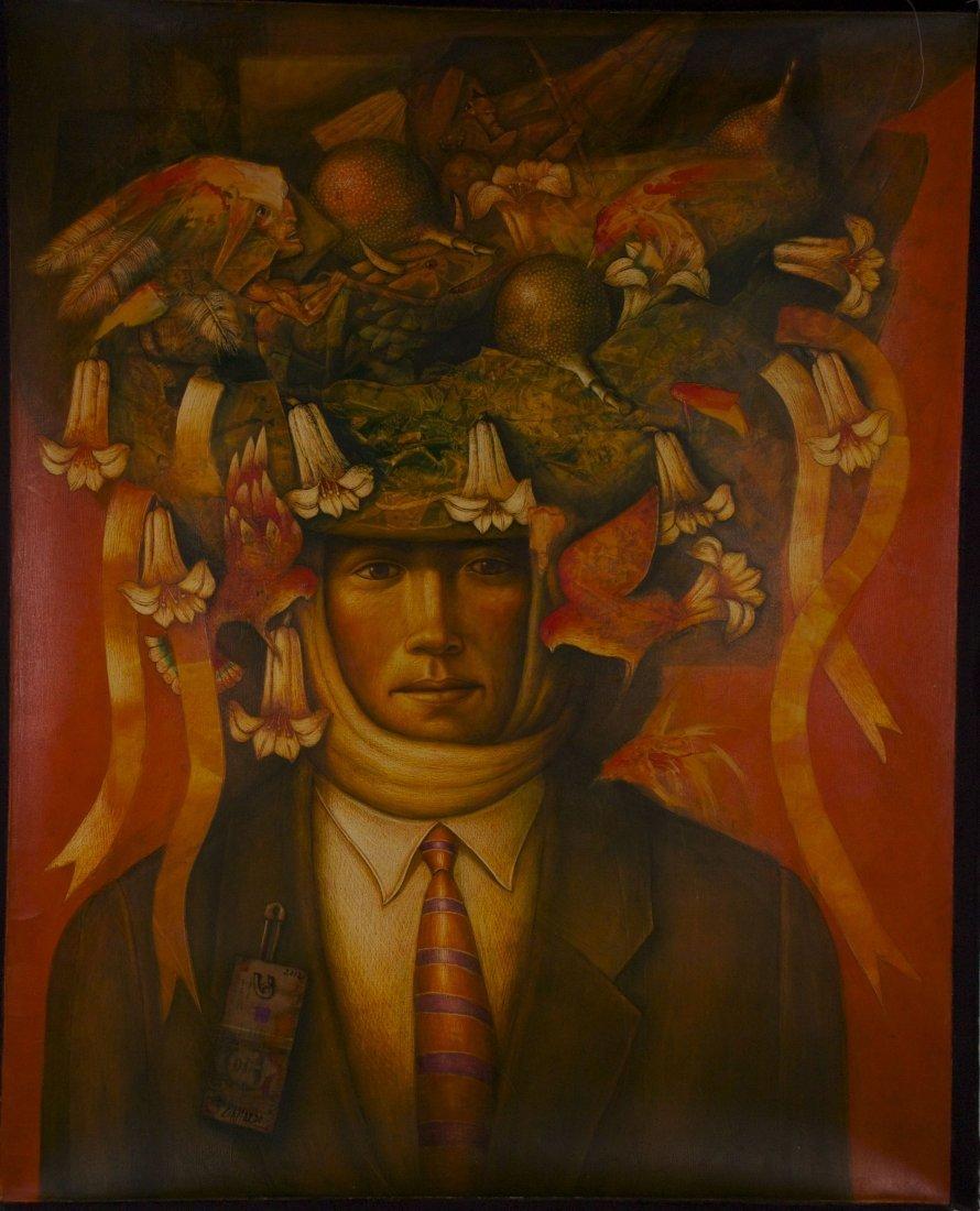 "Fernando Gallardo, (Peruvian 20th Century), ""Danzante A"