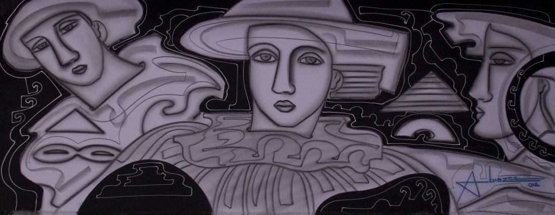 "Abiezer Agudelo, (Colombian 20th Century), ""Gran Horizo"