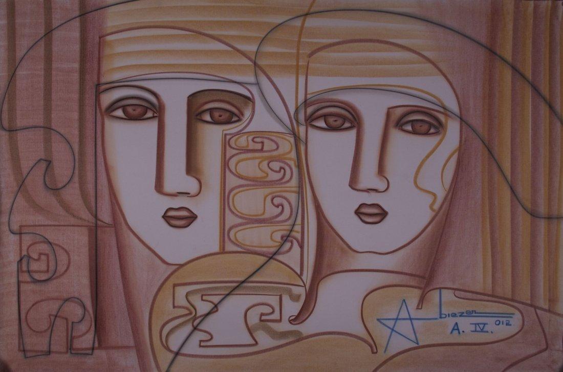 "Abiezer Agudelo, (Colombian 20th Century), ""Serea En Es"