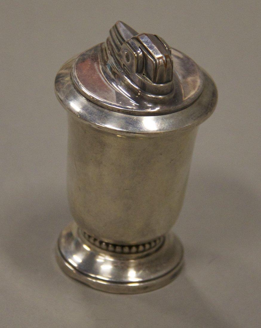 Ronson Jubilee Sterling Silver Table Lighter [7.6  (oz)