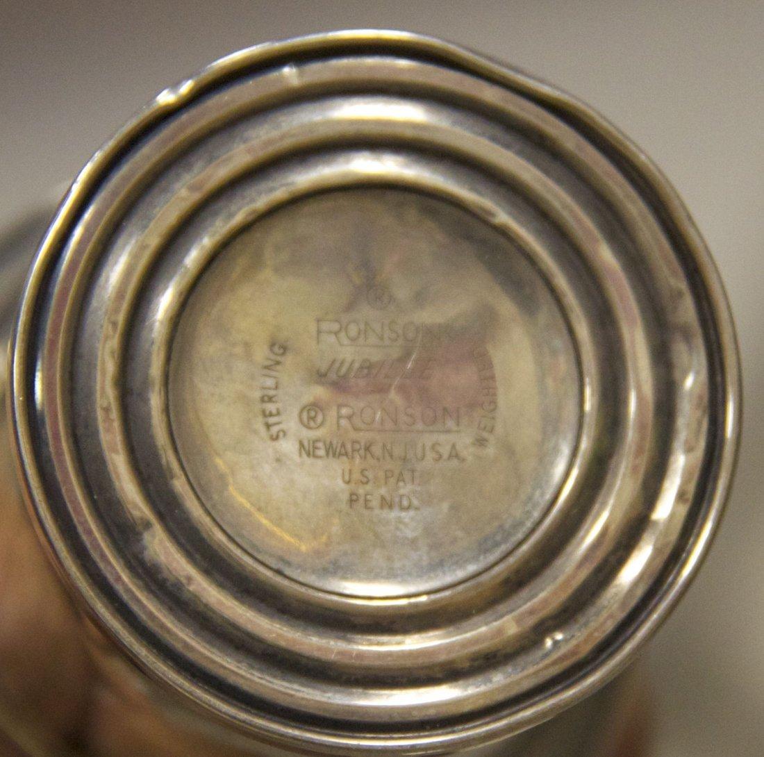 Ronson Jubilee Sterling Silver Table Lighter [7.6  (oz) - 2