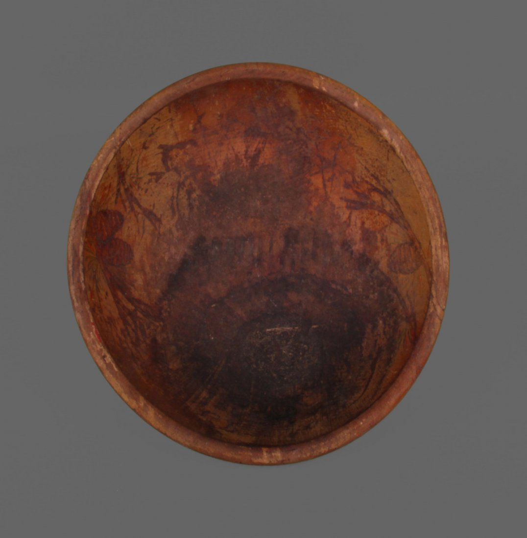 Early 1900's Wood Bowl used by Seminole Tribe.
