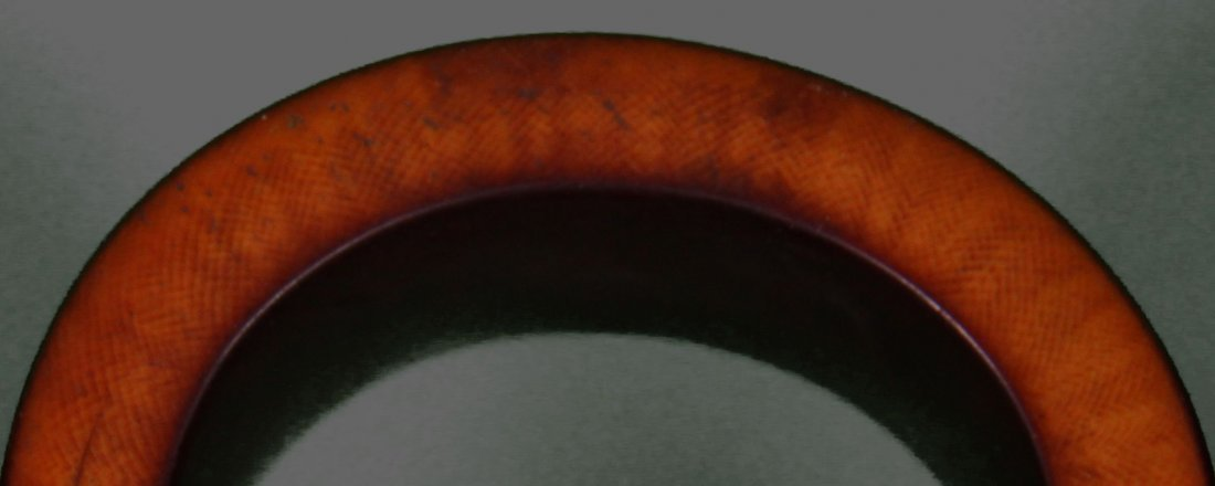 Four (4) Large African Ivory Bangle Bracelet Very - 7