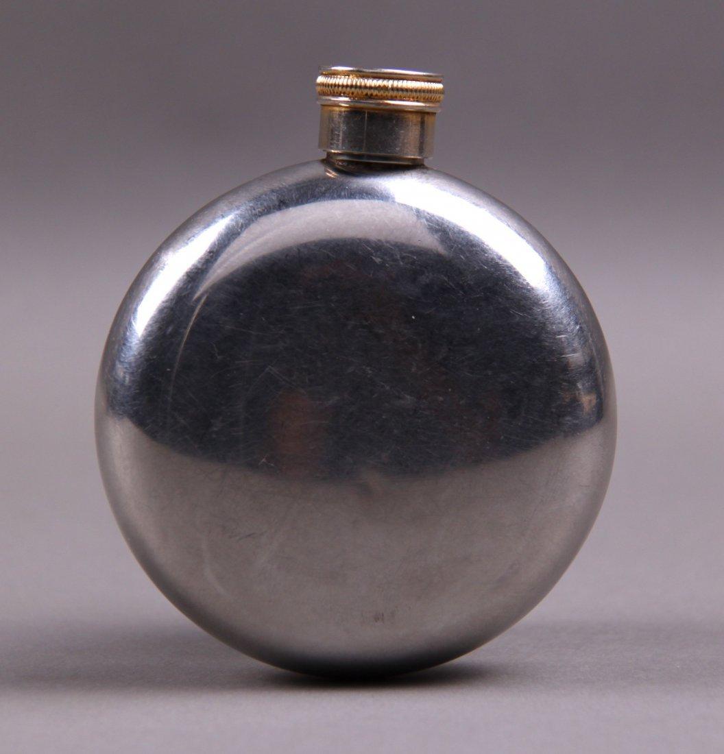 Jameson Silver Irish Whiskey Flask.  (Size: See last - 2