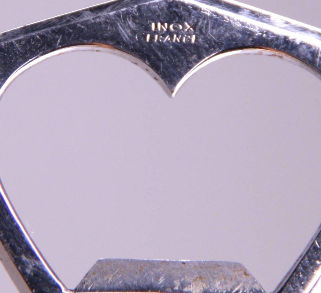 """Rare Antique Ivory tusk bottle opener.  Labeled """"Inox - 4"""