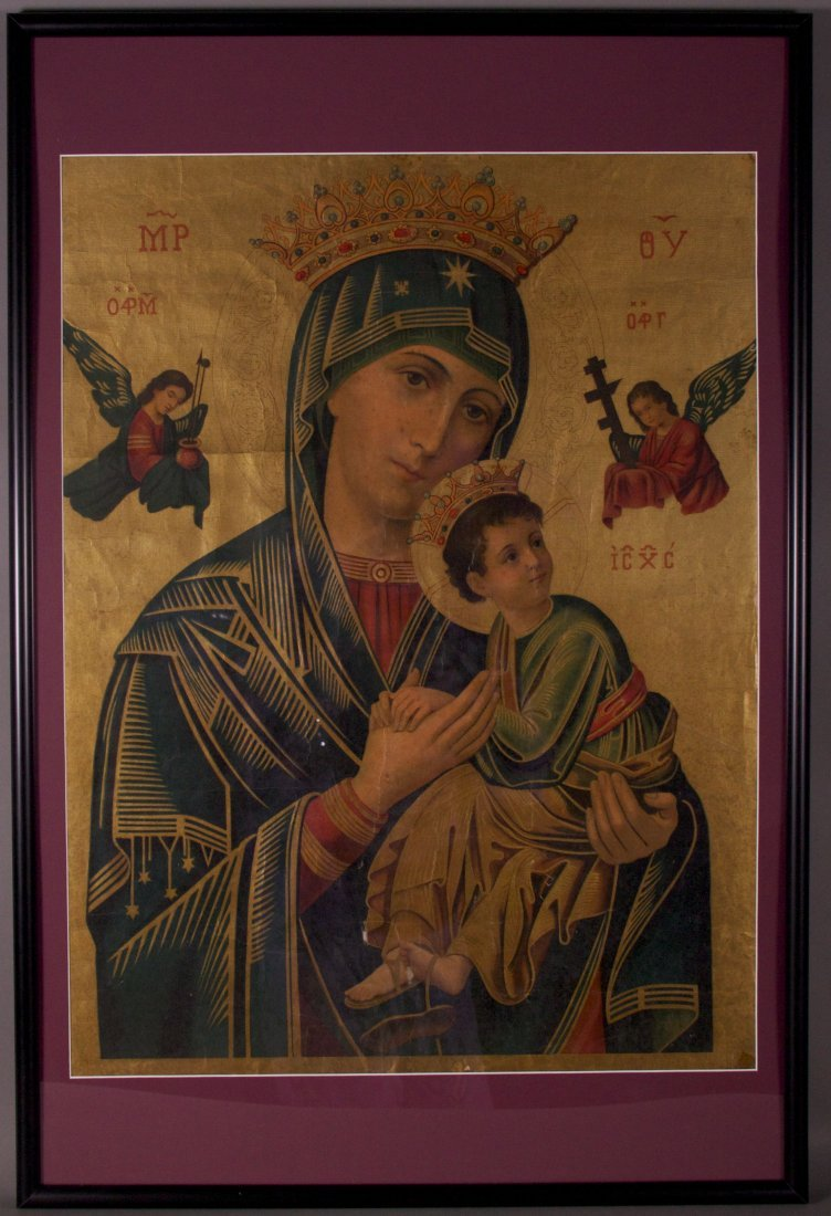 Early 19th Century Madonna and Child (Imprime En