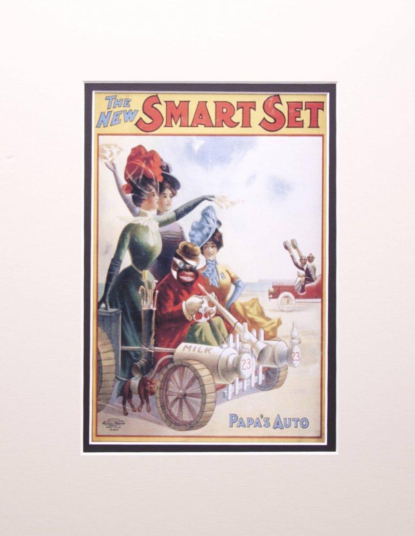 "Black American advertisement.  ""The New Smart Set,"