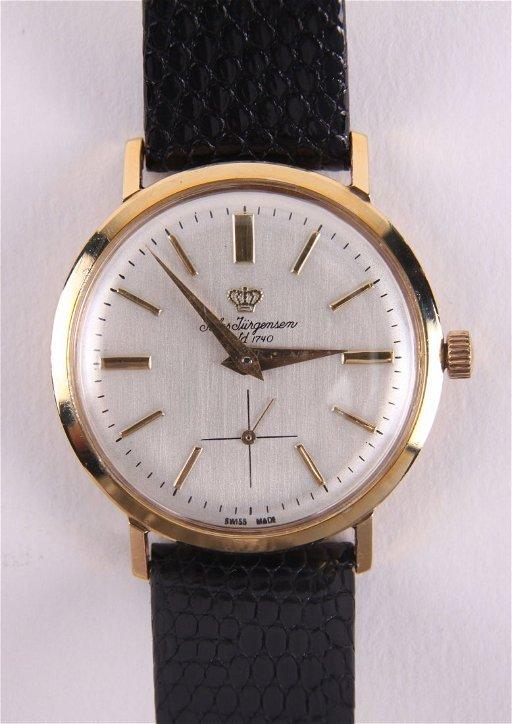 308649d88 Jules Jurgensen, est 1740, 14k gold wristwatch, watch - May 16, 2015 ...