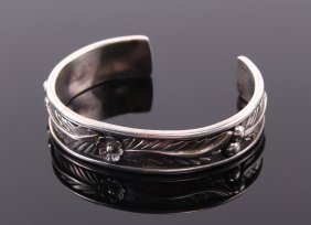 Vintage Native American Indian 925 Sterling Silver