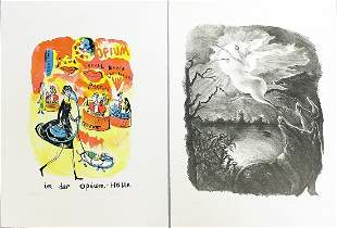 Moderne Künstlergraphiken (20. Jh.)