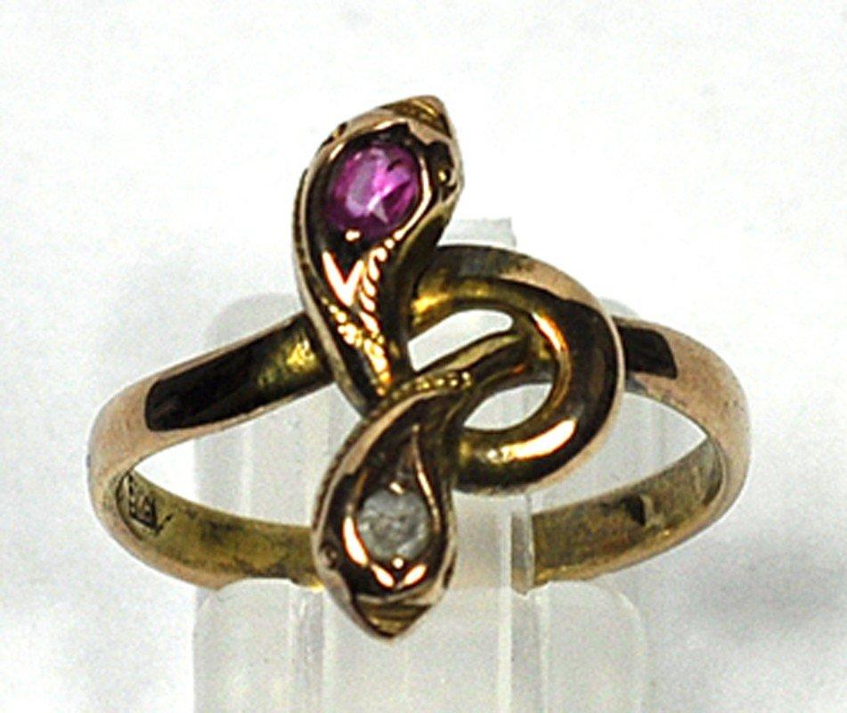 Schlangen-Ring.