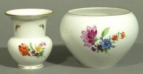Zwei Vasen, KPM Berlin,