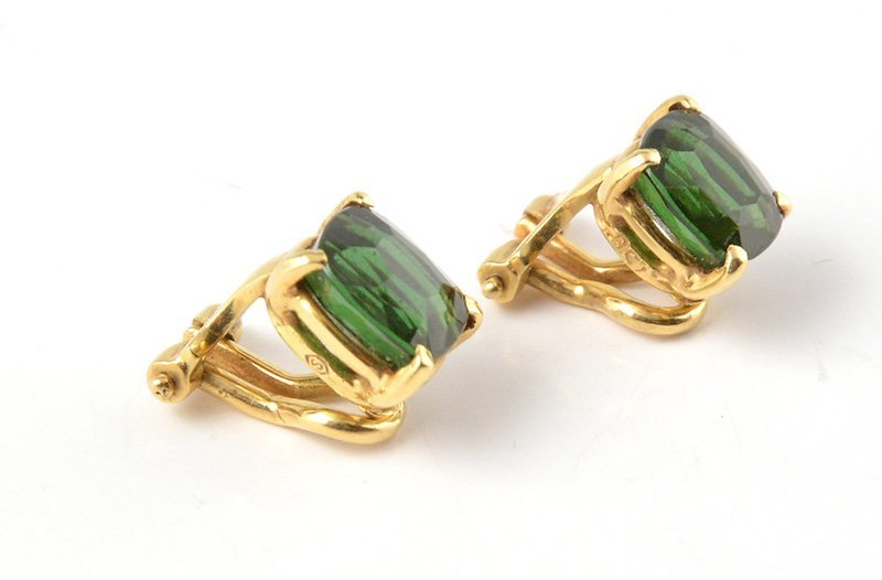 18K GOLD AND TOURMALINES - 2
