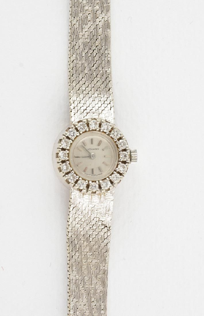 MOVADO - 14K GOLD, STEEL AND DIAMONDS