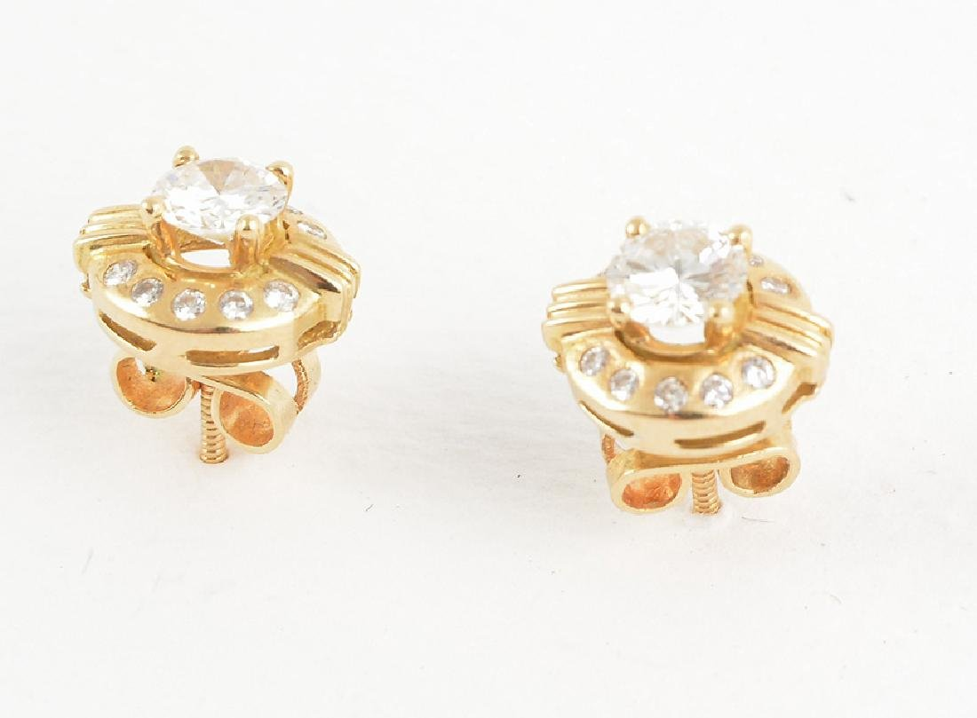 14K GOLD AND DIAMONDS