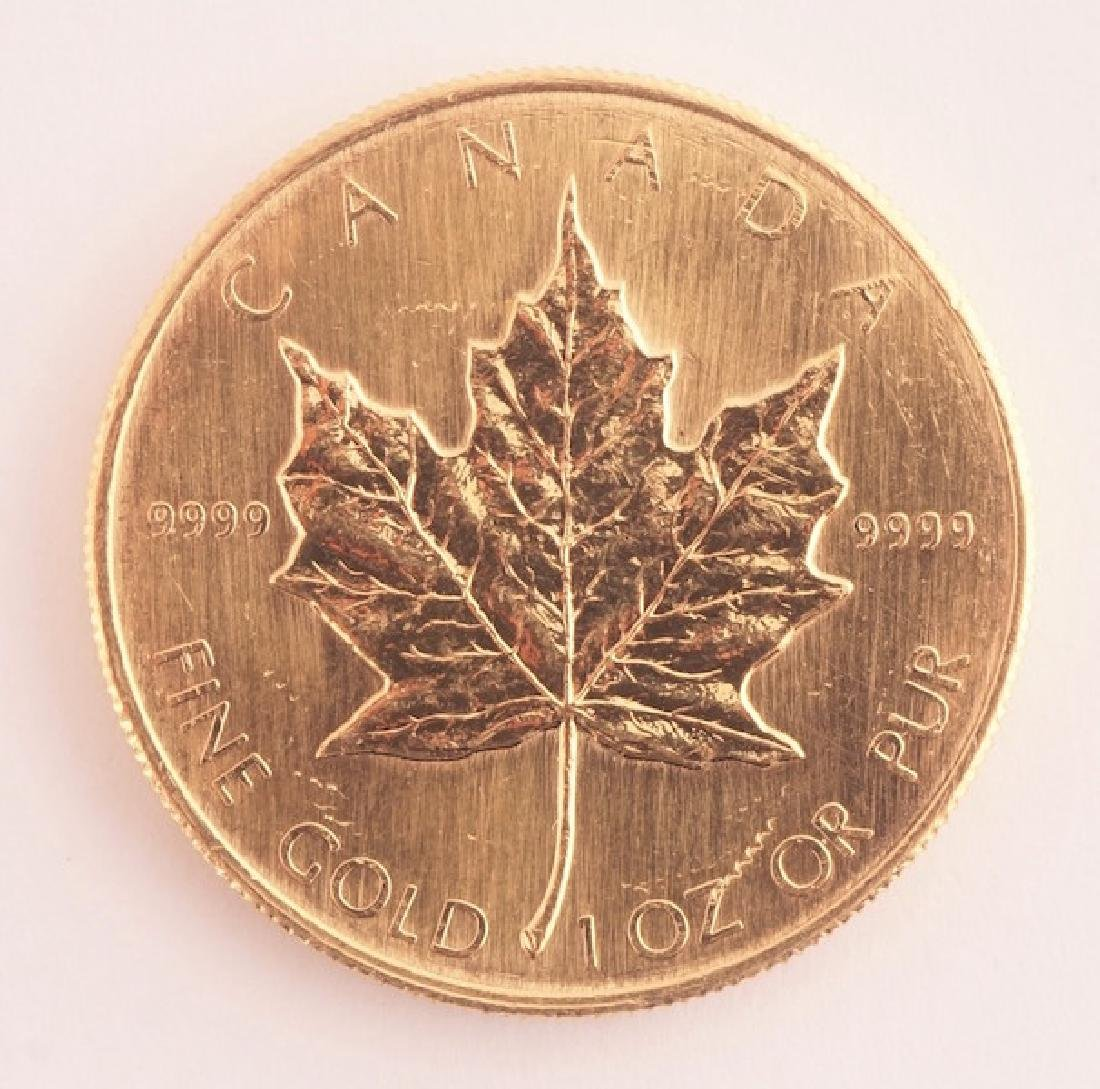 CANADIAN 50$ - FINE GOLD - 1985