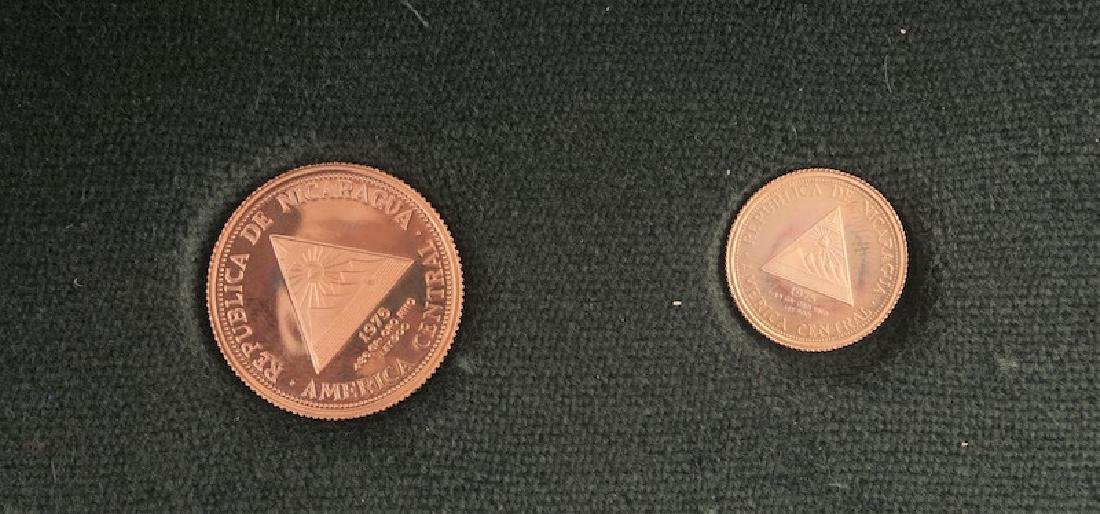 NICARAGUA - 900/1000 GOLD - 1975
