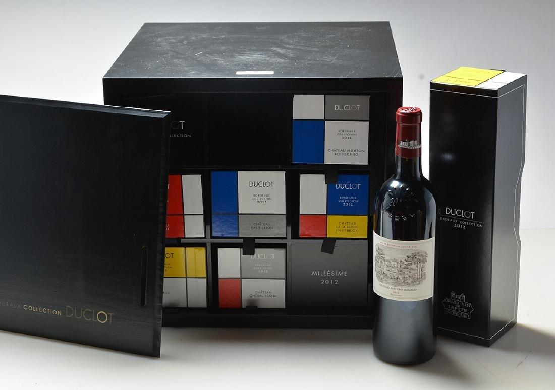 Caisse Bordeaux Collection Duclot 2012 - 7 bouteilles
