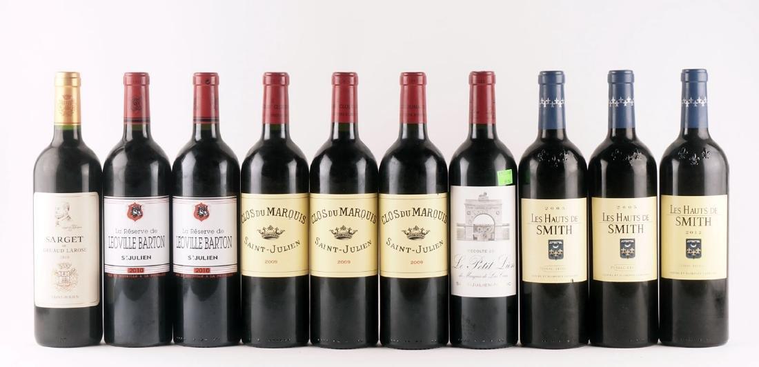 Sélection de Seconds Vins de Bordeaux - 10 bouteilles