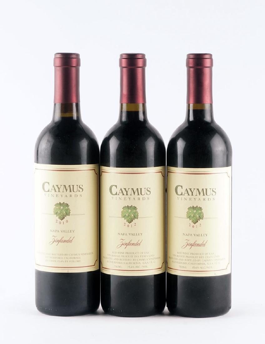 Caymus Zinfandel 2010 & 2012 - 6 bouteilles