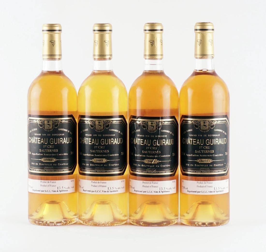 Château Guiraud 2003 - 4 bouteilles