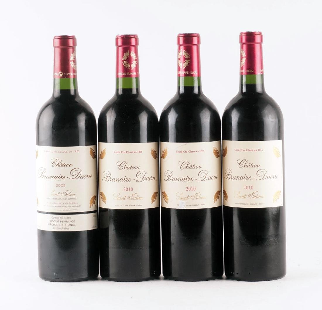 Château Branaire-Ducru 2005 & 2010 - 4 bouteilles
