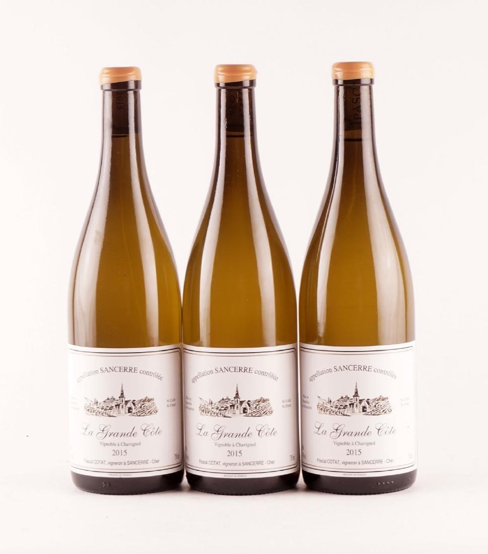 La Grande Côte 2015, Pascal Cotat - 3 bouteilles