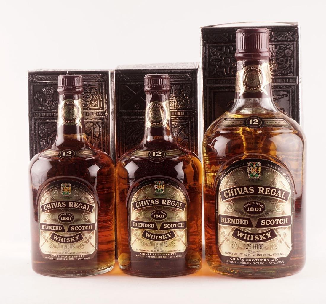 Chivas Regal 12 ans d'âge - 3 bouteilles