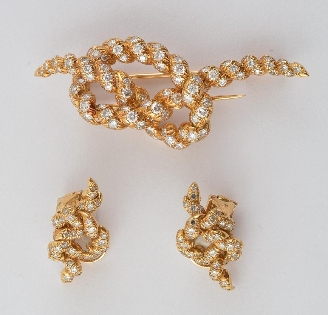 MAUBOUSSIN - 18K GOLD AND DIAMONDS