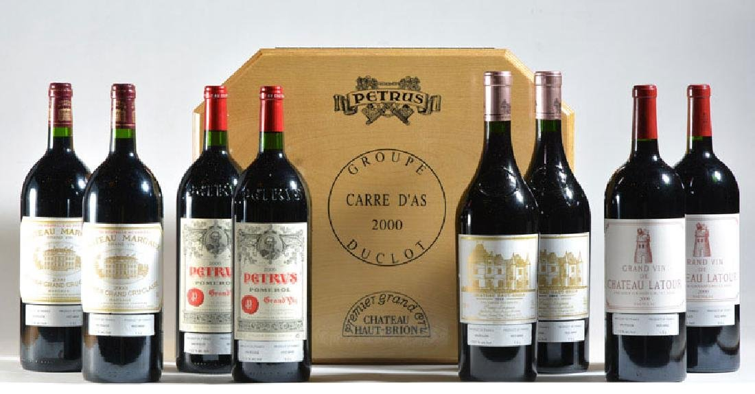 Carré d'As 2000 - 8 magnums - On provisional bid