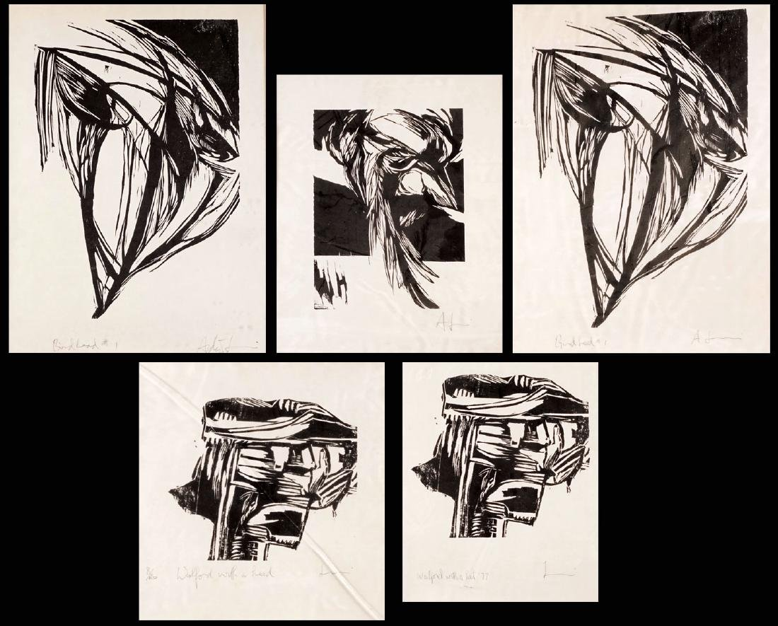 LUI, Andrew (1951-) (5 lithographies)