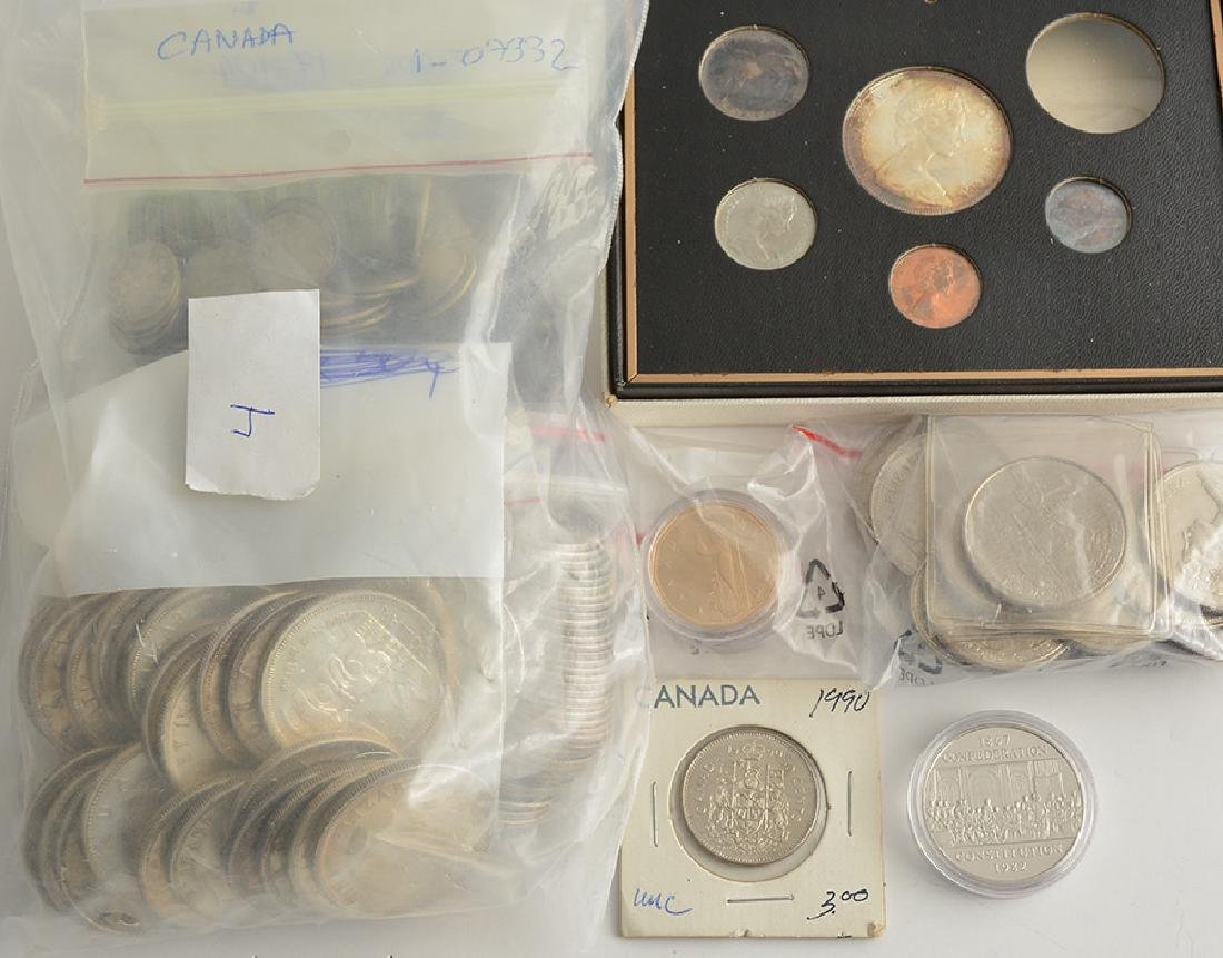 ROYAL CANADIAN MINT - 266 coins