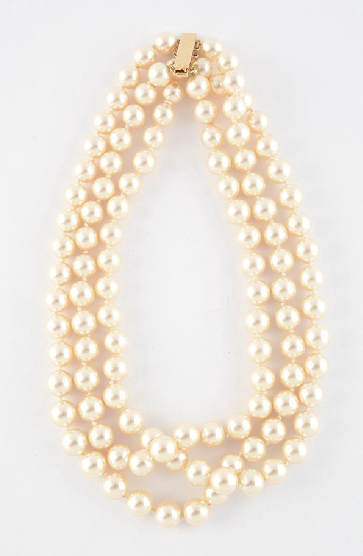 14K GOLD AND PEARLS