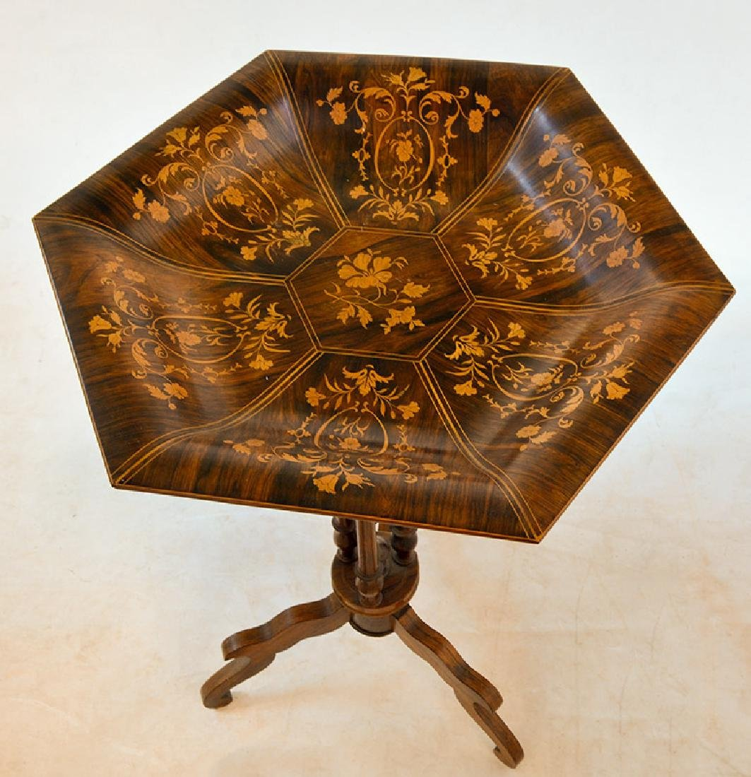 CHARLES X PERIOD PEDESTAL TABLE