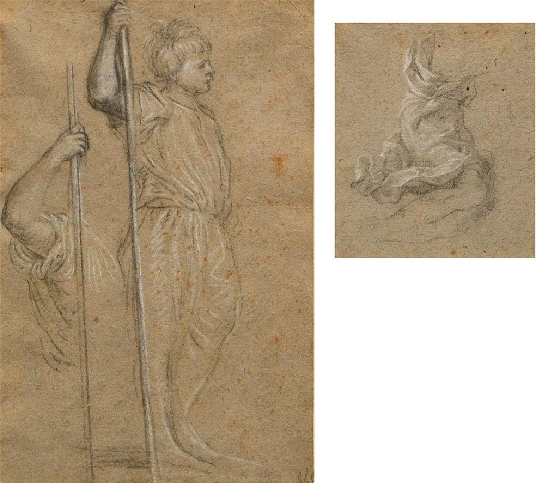ITALIAN SCHOOL, 17th c. and ROMAN SCHOOL, 17th c. -
